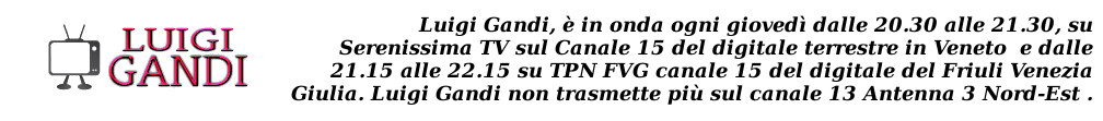 Luigi Gandi Media – Web TV