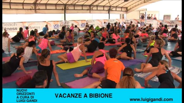 Vacanze a Bibione – puntata 54 – Beach Volley e Beach Fitness