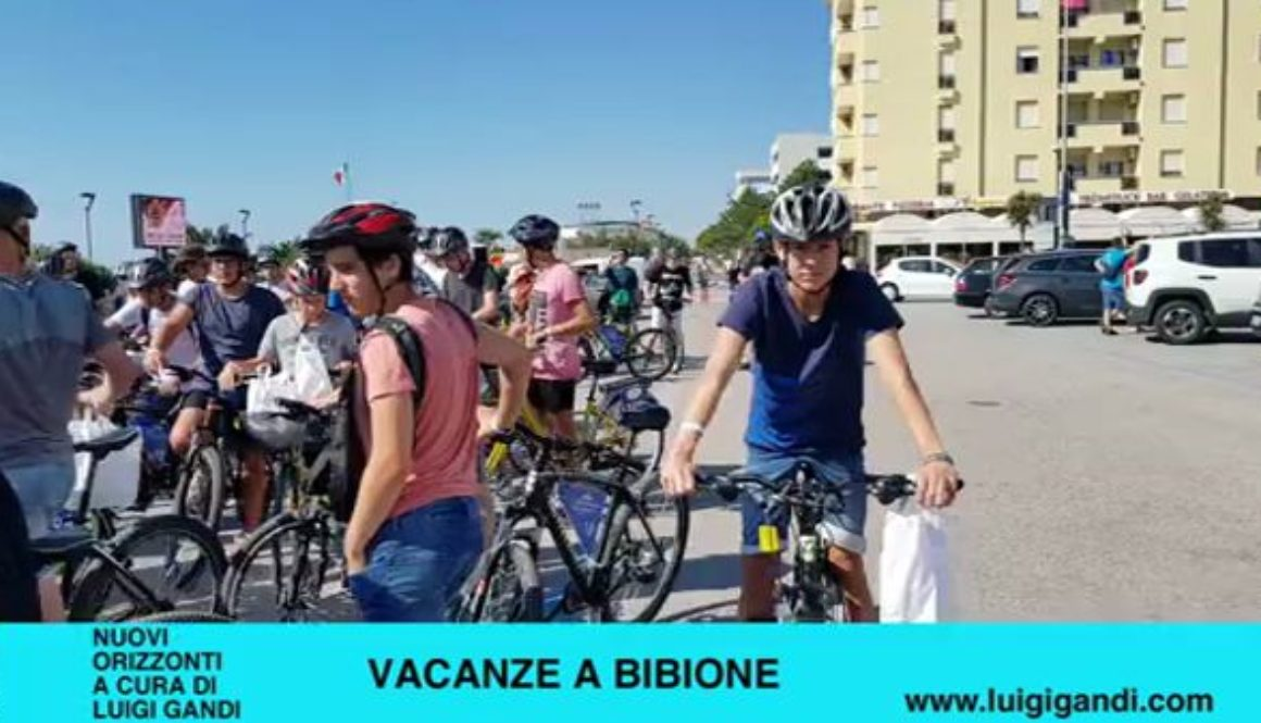 Vacanze_a_Bibione_-_puntata_55_-_Cicloturistica_con_Pasqualino_Codognotto