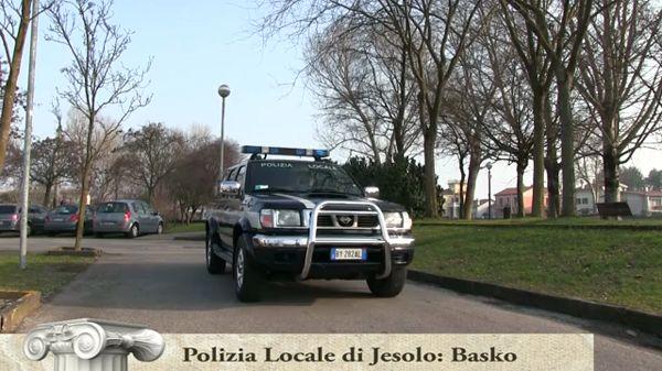 Polizia Locale di Jesolo con l'unità cinofila