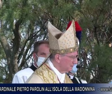 Visita_del_Cardinale_Pietro_Parolin_all_isola_della_Madonnina_Bibione.4